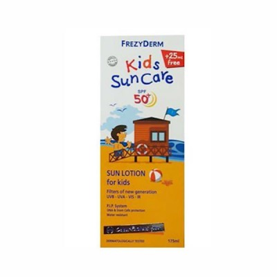 Frezyderm Kids Suncare SPF50+ for Face & Body, 175ml