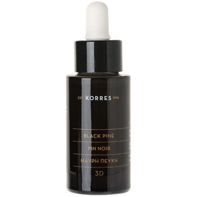KORRES ΜΑΥΡΗ ΠΕΥΚΗ 3D SCULPTING FIRMING & LIFTING SERUM 30ML