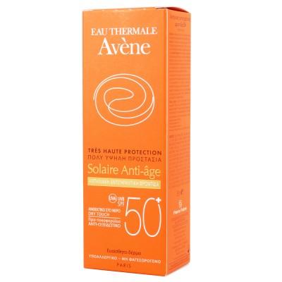 AVENE CREME Solaire Anti-Age Αντηλιακή Κρέμα Προσώπου Αντιγηραντική SPF50+ 50ml