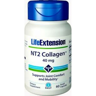 Life Extension Nt2 Collagen 40mg 60 Κάψουλες