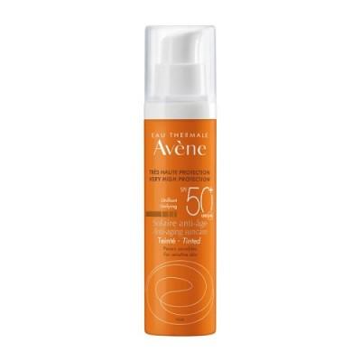 Avene Eau Thermale Solaire Anti-age Teinte SPF50+ 50ml