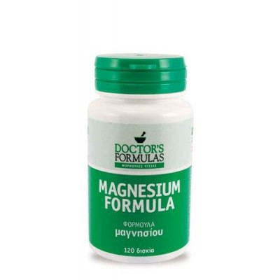 Doctor's formulas Magnesium formula 500mg 120 δισκία