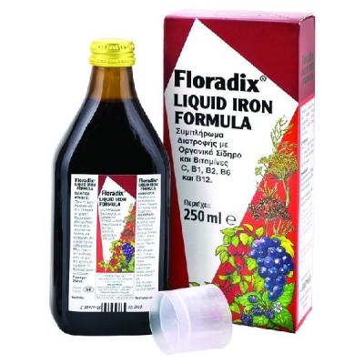 POWER HEALTH FLORADIX IRON FORMULA 250ML