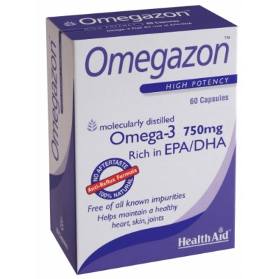 HEALTH AID OMEGAZON 750MG 60CAPS -BLISTER