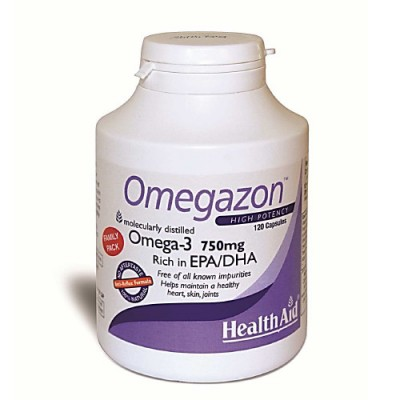 Health Aid Omegazon 750 mg 120caps