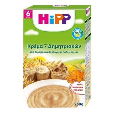 HiPP ΚΡΕΜΑ 7 ΔΗΜΗΤΡΙΑΚΩΝ 250GR