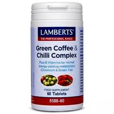 LAMBERTS GREEN COFFEE & CHILLI COMPLEX 60TABS