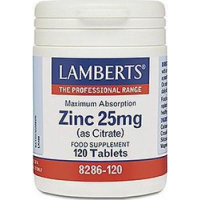 LAMBERTS ZINC 25 MG 120 TABS