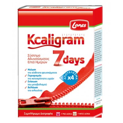 LANES KCALIGRAM 7DAYS 14TABS