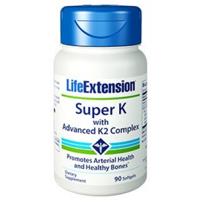 Life Extension Super K with advanced K2 Complex 90caps (Φικιωρης)