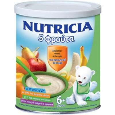 NUTRICIA ΦΡΟΥΤΟΚΡΕΜΑ 5 ΦΡΟΥΤΑ 300GR