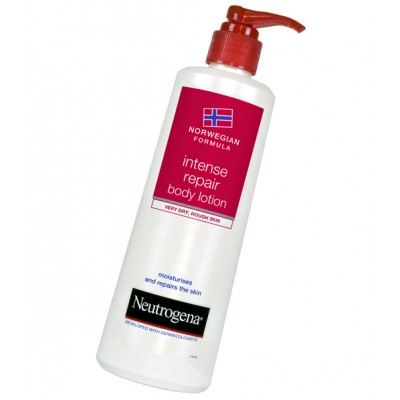 NEUTROGENA INTENSE REPAIR DRY BODY LOTION 400ML
