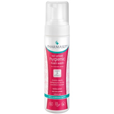PHARMASEPT TOL VELVET HYGIENIC FOAM WASH 200ML