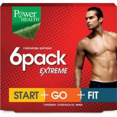 POWER HEALTH  6 PACK  EXTREME 3 X 30CAPS