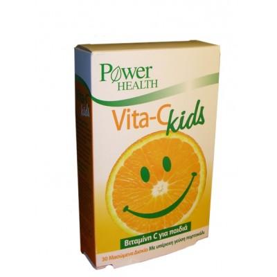 POWER HEALTH VITAMIN C KIDS 30CHEW TABS