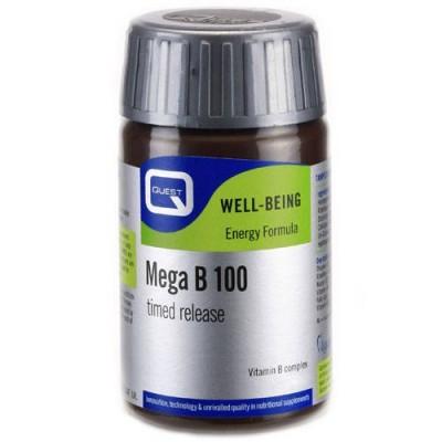 QUEST MEGA B-100 TIMED RELEASE TABS 60S