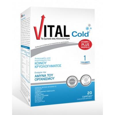 VITAL COLD PLUS 20 CAPS