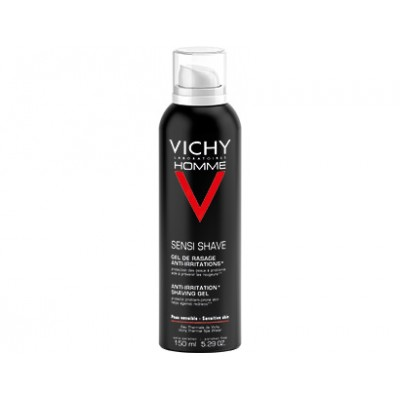 VICHY HOMME GEL DE RASSAGE ANTI-IRRITATE 150ML