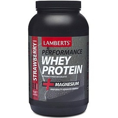 LAMBERTS WHEY PROTEIN STRAWBERRY 1000GR.