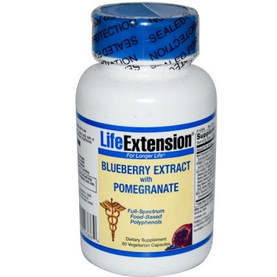 Life Extension Blueberry extract 60caps (Φικιωρης)