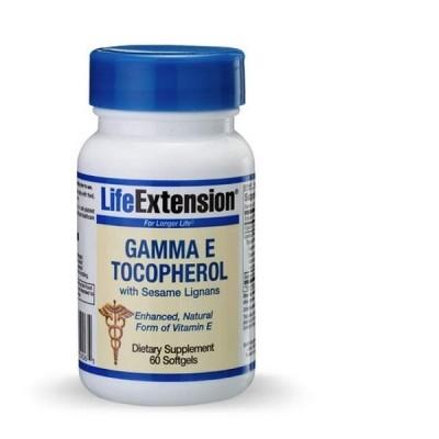 Life Extension Gamma E Tocopherol Sesame Lig. 60softgels