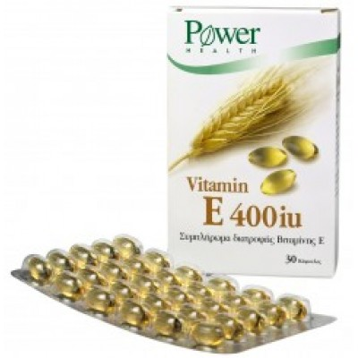 POWER HEALTH VITAMIN E 400IU ΑΠΟ ΣΙΤΕΛΑΙΟ 30CAPS