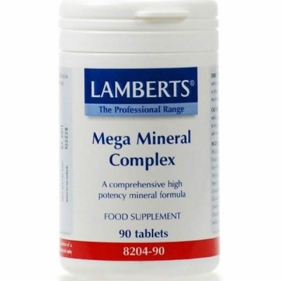LAMBERTS MEGA MINERAL COMPLEX 90TAB