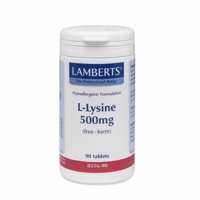 LAMBERTS L LYSINE 500MG 90TAB