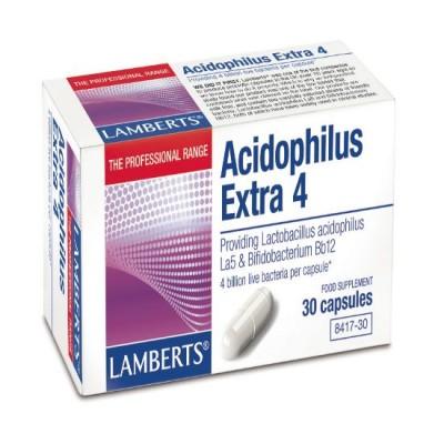 LAMBERTS ACIDOPHILUS EXTRA 4 30CAP