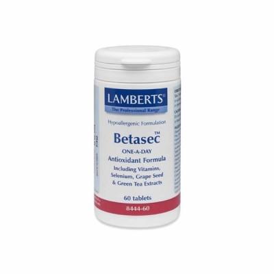 LAMBERTS BETASEC ANTIOXIDANT 60TAB