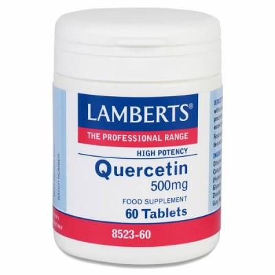 LAMBERTS QUERCETIN 500MG 60TAB