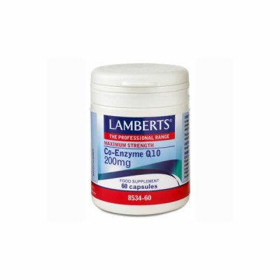 LAMBERTS CO-ENZYME Q10 200MG 60CAP