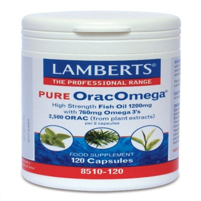 LAMBERTS PURE ORAC OMEGA (Ω3) 120CAPS