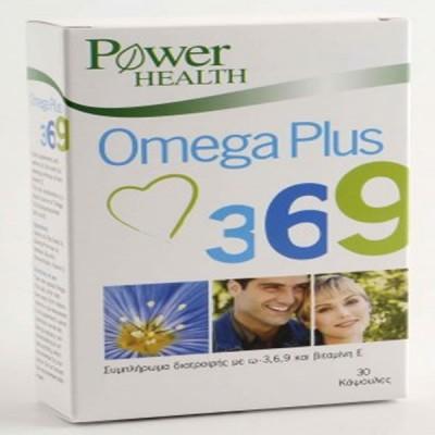 POWER HEALTH OMEGA PLUS 3-6-9 30CAPS
