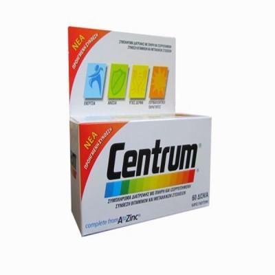 CENTRUM A-ZINC 60 TAB