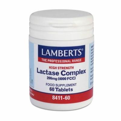 LAMBERTS LACTASE COMPLEX 60TAB