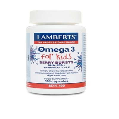 LAMBERTS OMEGA 3 FOR KIDS 100CAP