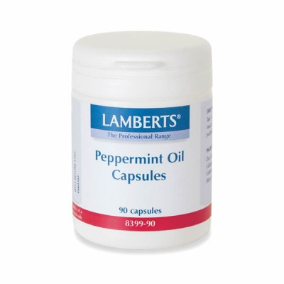 LAMBERTS PEPPERMINT OIL 50MG 90CAP