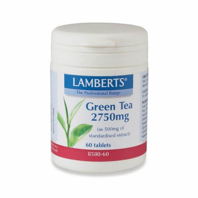 LAMBERTS GREEN TEA 2750MG 60TAB