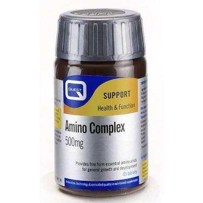 Quest Amino Complex 500mg Tabs 45Caps