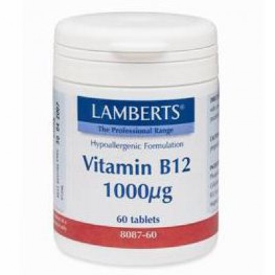 LAMBERTS B-12 1000mcg 60tabs (Cobalamin)