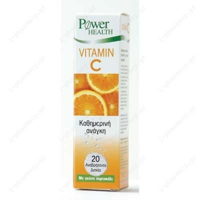 POWER HEALTH VITAMIN C 135MG 20EFF. TABS
