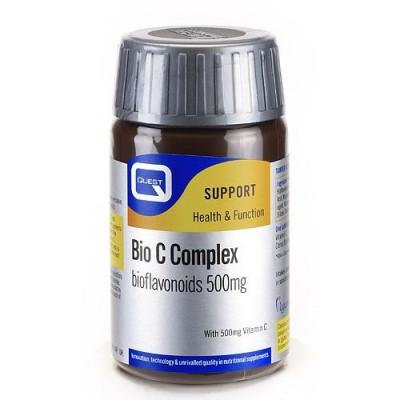 Quest Bio C Complex Bioflavonoids 500mg Tabs 30Caps