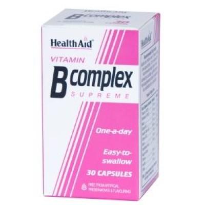 HEALTH AID B COMPLEX SUPREME CAPSULES 30's