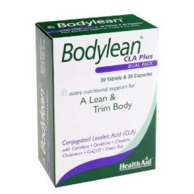HEALTH AID BODYLEAN CLA PLUS 30's CAPS+30's TABS