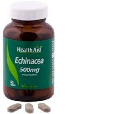 HEALTH AID BALANCED ECHINACEA PURPUREA/ANGUSTIFOLIA 500MG TABLETS 60'S
