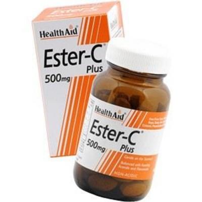 HEALTH AID ESTER C 500MG TABLETS 60S