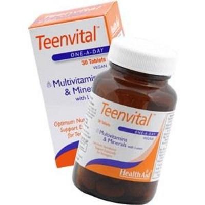 HEALTH AID TEENVITAL TABLETS 30'S (AGES 12-16)