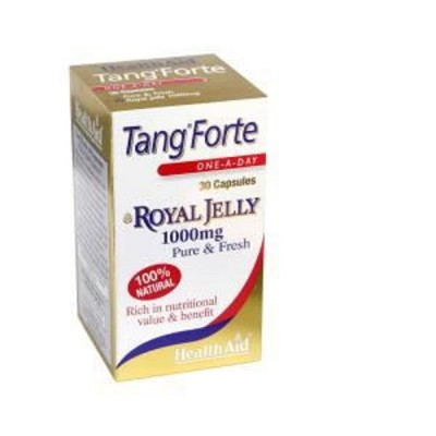 HEALTH AID TANGFORTE ROYAL JELLY 1000MG CAPSULES 30'S