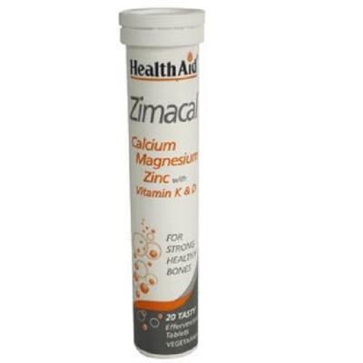 HEALTH AID ZIMACAL - LIME 20 tabs